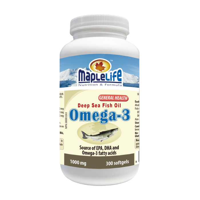 GMP Nutritional Supplement Omega 3 Fish Oil Soft Capsule