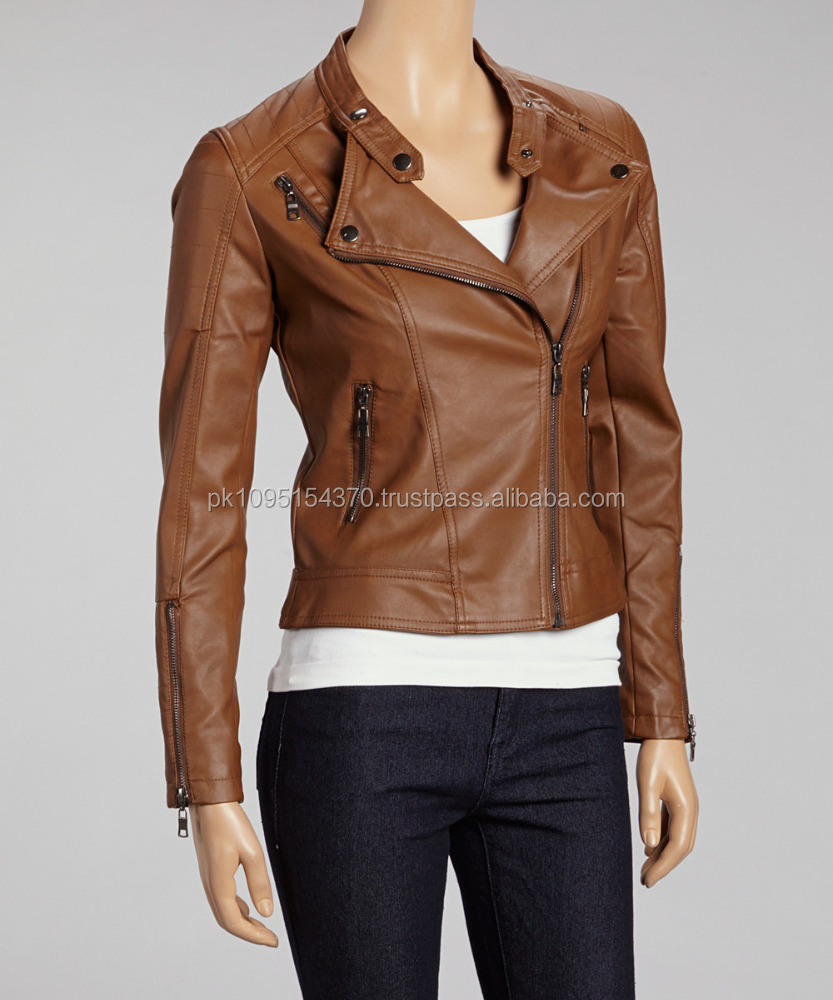 Ladies Leather Jacket, Ladies Leather Jacket Suppliers and ...