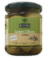 Fresh Green/Black Table Olives