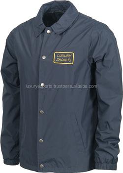 Best Selling Unisex Plain Windbreaker Jacket No Hood For Women ...