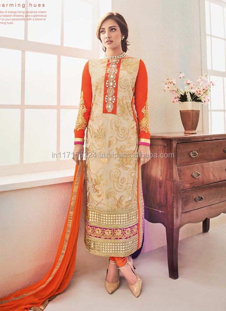 bd3073ae33 India designer cut sleeves suits wholesale 🇮🇳 - Alibaba