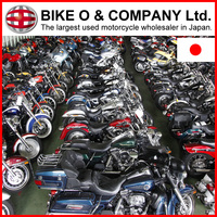 Various types of motorcycles and scooters pictures with Good condition made in Japan