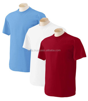 Red promotional t shirts blue color bulk t shirts custom for Cheap promo t shirts
