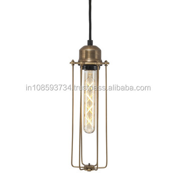 Hanging Cage Industrial Pendant Lamp