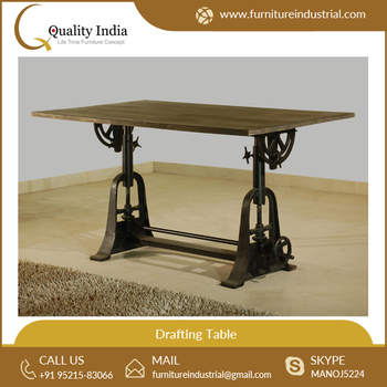 Best Quality Wooden Industrial Drafting Table For Bulk Purchase