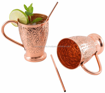 100% solid copper Moscow mule mugs | Pure copper mugs moscow mule