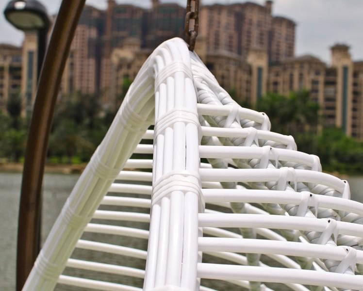 Indoor and outdoor wicker swing chair furniture