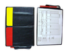 Colorful plastic referee card wallet