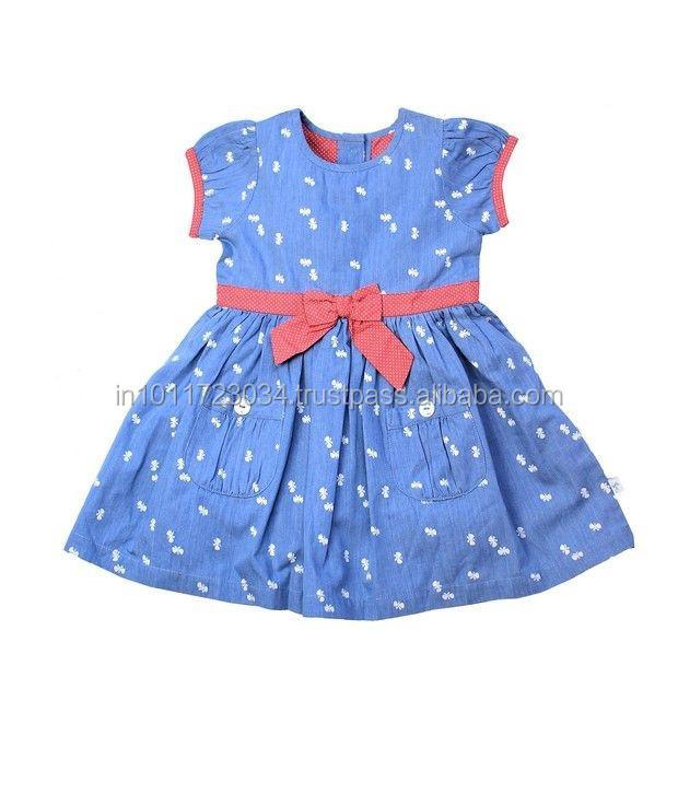 427f610fe3c0 Kid Wear Baby Frock Designs Cute Girl Fashion Dress