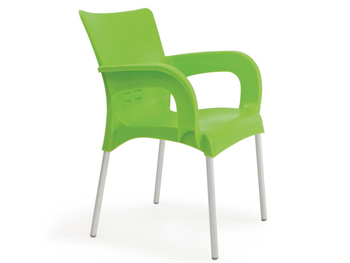 Strong Plastic Garden Chair with Aluminium Legs  sc 1 th 195 & Strong Plastic Garden Chair With Aluminium Legs - Buy Plastic Chairs ...