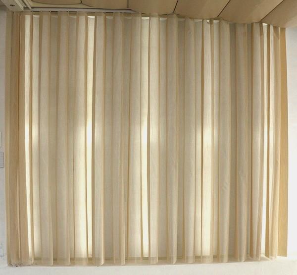 Rraj Transparent Vinyl Sheer Wave Vertical Curtain Buy