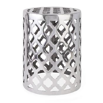 Casted Aluminium Garden Stool / Metal Stool