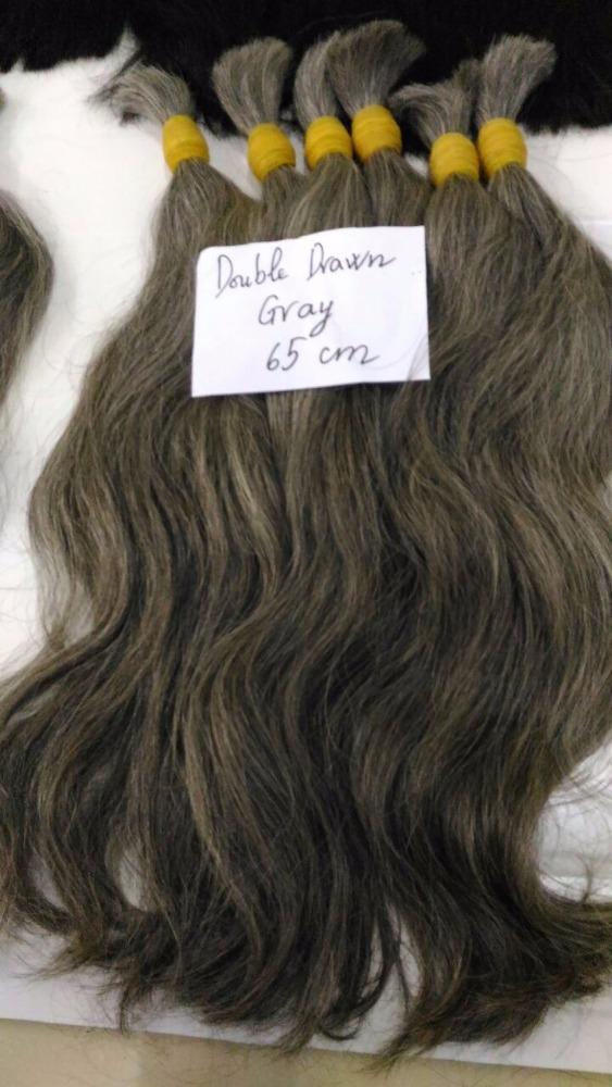 Gray Hair For Bleachingblonde Hair Extensionsvirgin Human High