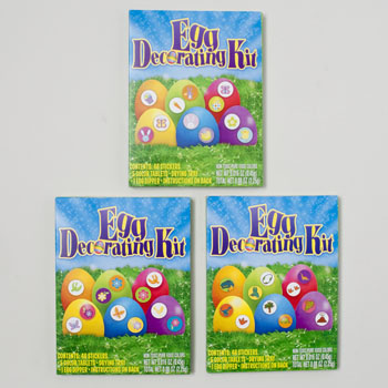 Easter Egg Dye Coloring Kit 5ct 24 Pc Pdq #87311 - Buy Paper ...