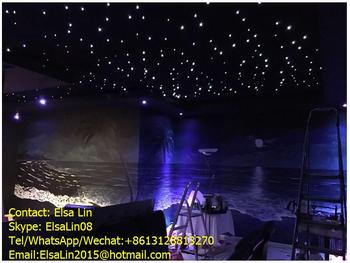 Singapore Cheap Price Led Star Drop Curtain Ceiling Sky Cloth With Dmx