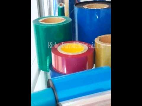 Thermal Transfer Ribbon Color Indonesia, 0823 8845 5228Telkomsel Ribbon Red Color