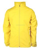 Rain jacket 100% cotton water proof jacket