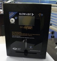 Blow&Go coin operated alcohol tester