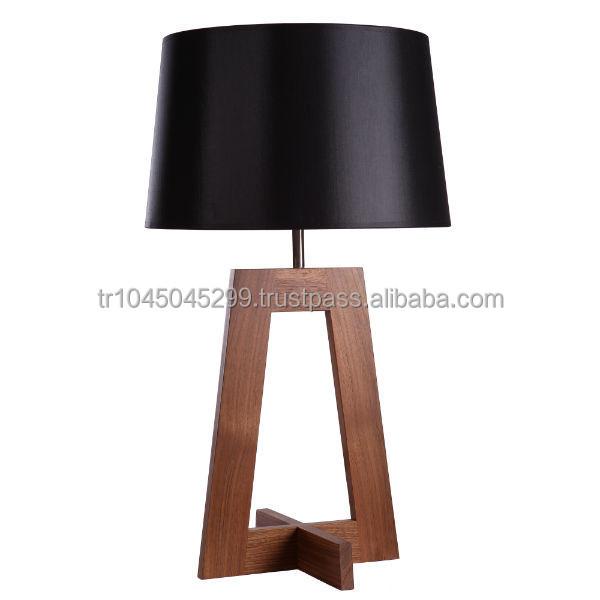 Angolare Lampada Da Tavolo In Legno Artigianali Disegno