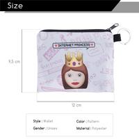 FactorytoShop (UK) Stylish, Cute Sassy Internet Princess Design Print Square Purse/ Clutch Wallet