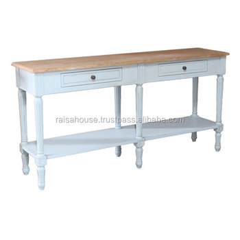The Shabby Chic Furniture Indonesia - Shabby console with drawer Chic Furniture
