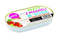 Fillets of mackerel in tomato sauce 170g