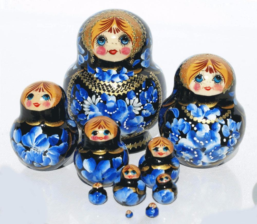 dark blue matryoshka dolls wooden nesting dolls for kids where to buy  russian dolls educational wooden toys set 5 pc - buy wooden dolls,dolls for