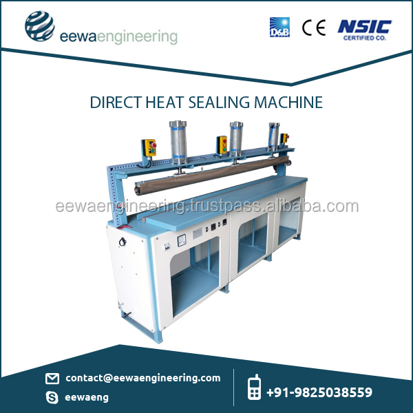 Semi-Automatic Foot Switch Operated Direct Heat Sealer for Packaging