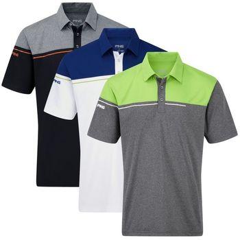 Customized fine quality golf polo shirts sublimation for Personalised golf shirts uk