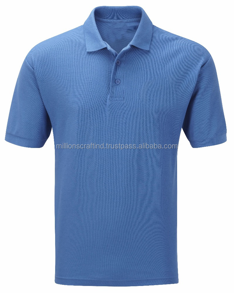 Wholesale Custom made unisex Polo shirts in different colors