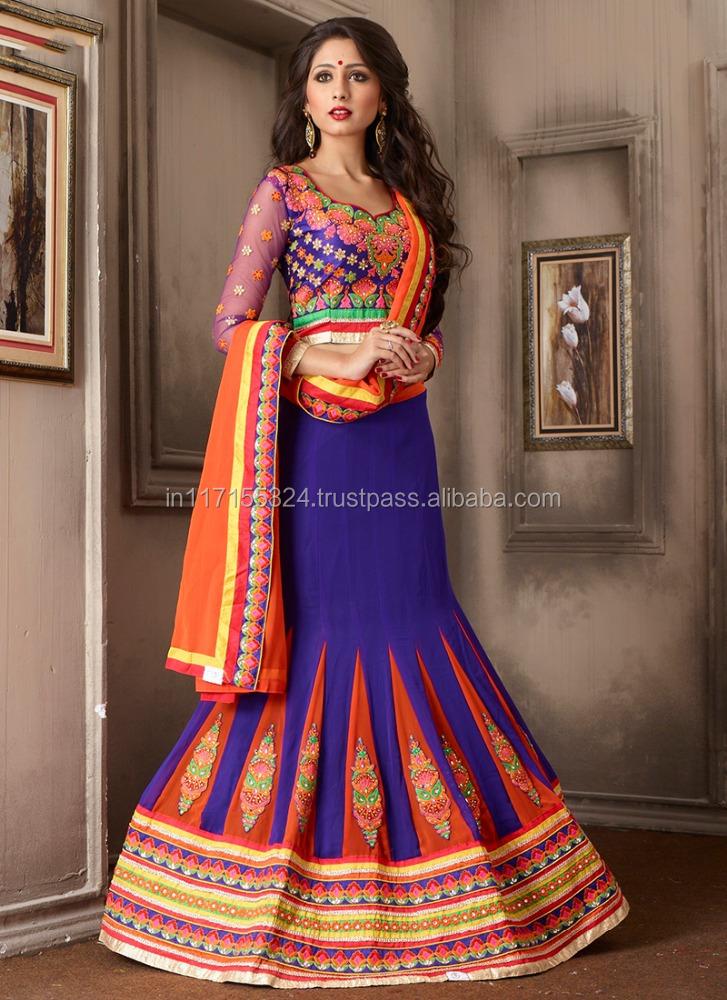 3f64087c47 Jaipuri Lehenga Choli - Lehenga Choli Online Shopping India - Purple  Georgette Party Wear Mirror Work Lehenga Choli - Buy Jaipuri Lehenga Choli  33509,Yellow ...