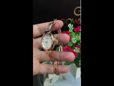 BULOVA  Dress Mother of Pearl Rose Gold-tone Ladies Watch 97L137