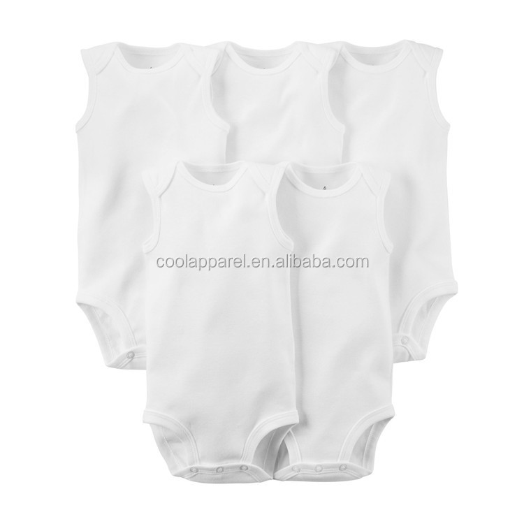 615a5d09c Oem Service Baby Onesie Manufacture Custom White Pure Cotton Plain ...