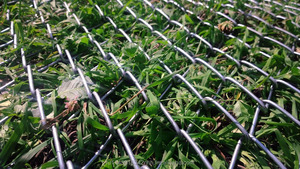 2D-Geo - high-tensile strenght steel chain-link mesh for slope protection