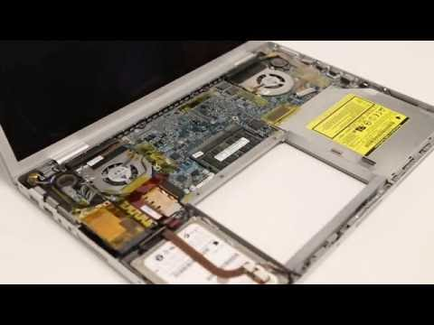 MacBook Pro Aluminum Hard Drive Removal / Upgrade Instructions