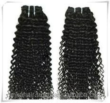 Vietnam top quality kindy curly steamed hair weaving, 100% human hair, thick bottom thick end virgin hair