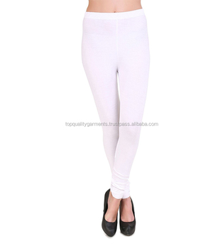 58818d204a2fa New Fitness Thick White Leggings Custom Women Ladies Fashion Slim Workout  Tights Wholesale OEM 2019 Hot