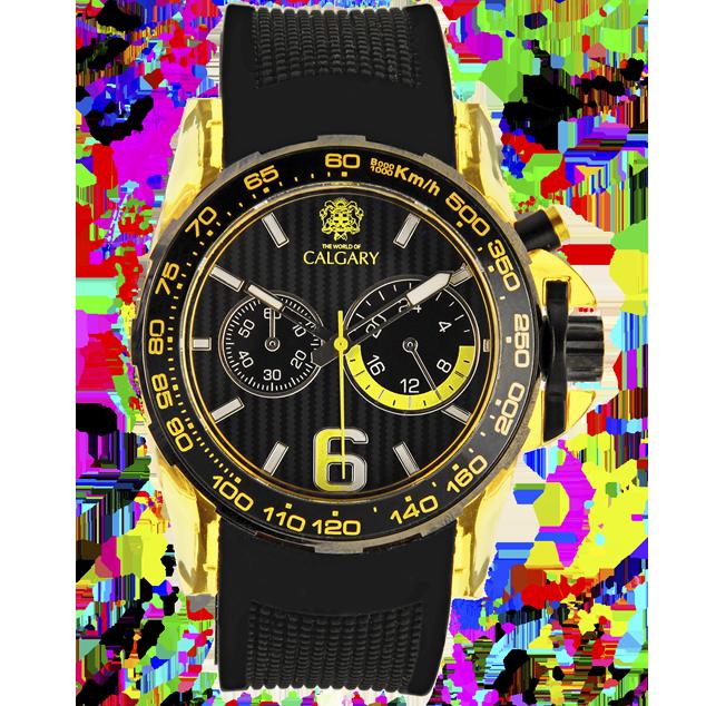 Calgary Relojes Oakland Velocidad Hudson Colección Amarillo