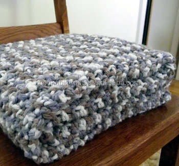 Best Handmade Vintage Antique Chunky Crochet Blanket