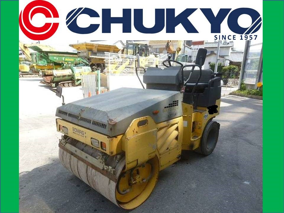 < SOLD OUT>USED BOMAG COMBINED ROLLER BW115AC -3 JAPANESE 2.5TON ROLLER FOR SALE