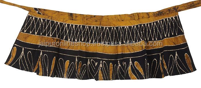 Indian Short Gypsy Bohemian Wrap Skirt Hippie Cotton Midi