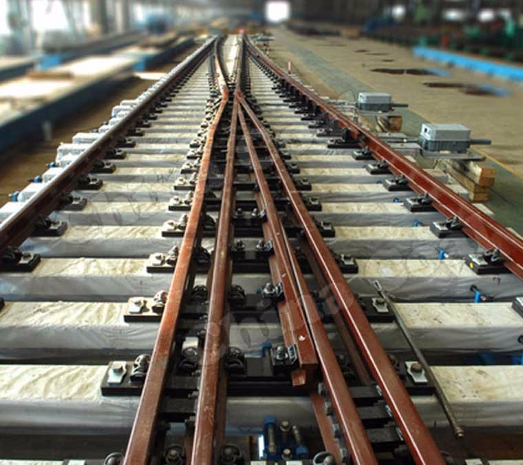 2017 Hot Sale Simple Steel Rail/Railway Turnout with Factory Price