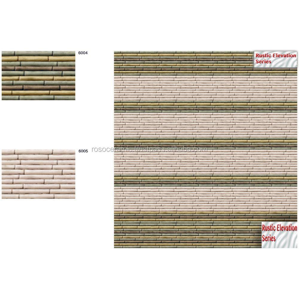Clay exterior floor tiles lavish home design for Exterior tiles design india