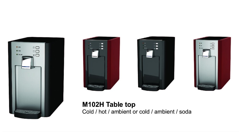 Cold/hot/ambient Water Dispenser, Tabletop Mini Twin Filter, M102H2