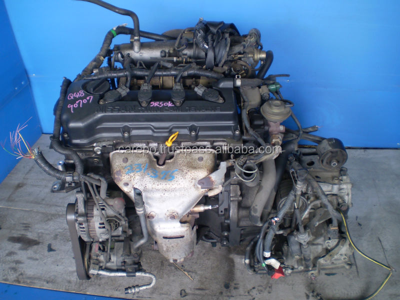 JAPANESE USED ENGINE QG18DE FOR NISSAN PRIMERA, BLUEBIRD, AVENIR EXPORTED FROM JAPAN