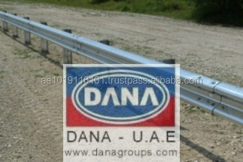 Road Divider Barrier Guard Rail Uae Oman Qatar Bahrain Saudi - Buy  Galvanized Steel Crash Barrier,Road Crash Barrier,Metal Beam Crash Barrier  Product