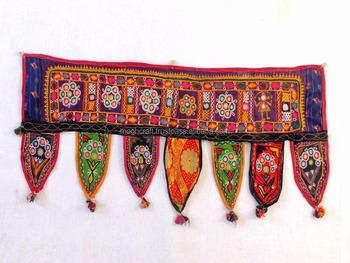 Wholesale Banjara Style Home Decor Toran vintage Kutch Embroidered