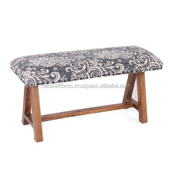 Cool Cotton Printed Rug Upholstery Wooden Small Indoor Bench Buy Indoor Long Bench Small Wooden Bench Indoor Decorative Benches Product On Alibaba Com Short Links Chair Design For Home Short Linksinfo