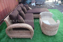 Sehr günstige <span class=keywords><strong>rattan</strong></span> hause holz wohnzimmer sofa set möbel-Hause natürliche <span class=keywords><strong>rattan</strong></span> l förmige wohnzimmer möbel-
