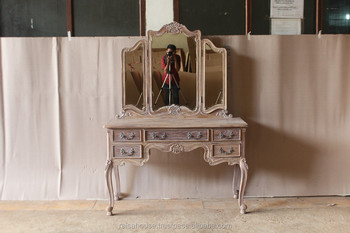 Antique Reclaimed Furniture - Dressing Mirror to match RBD 012 Indonesia Furniture